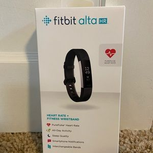 Fitbit Alta Hr with original packaging+extra band!